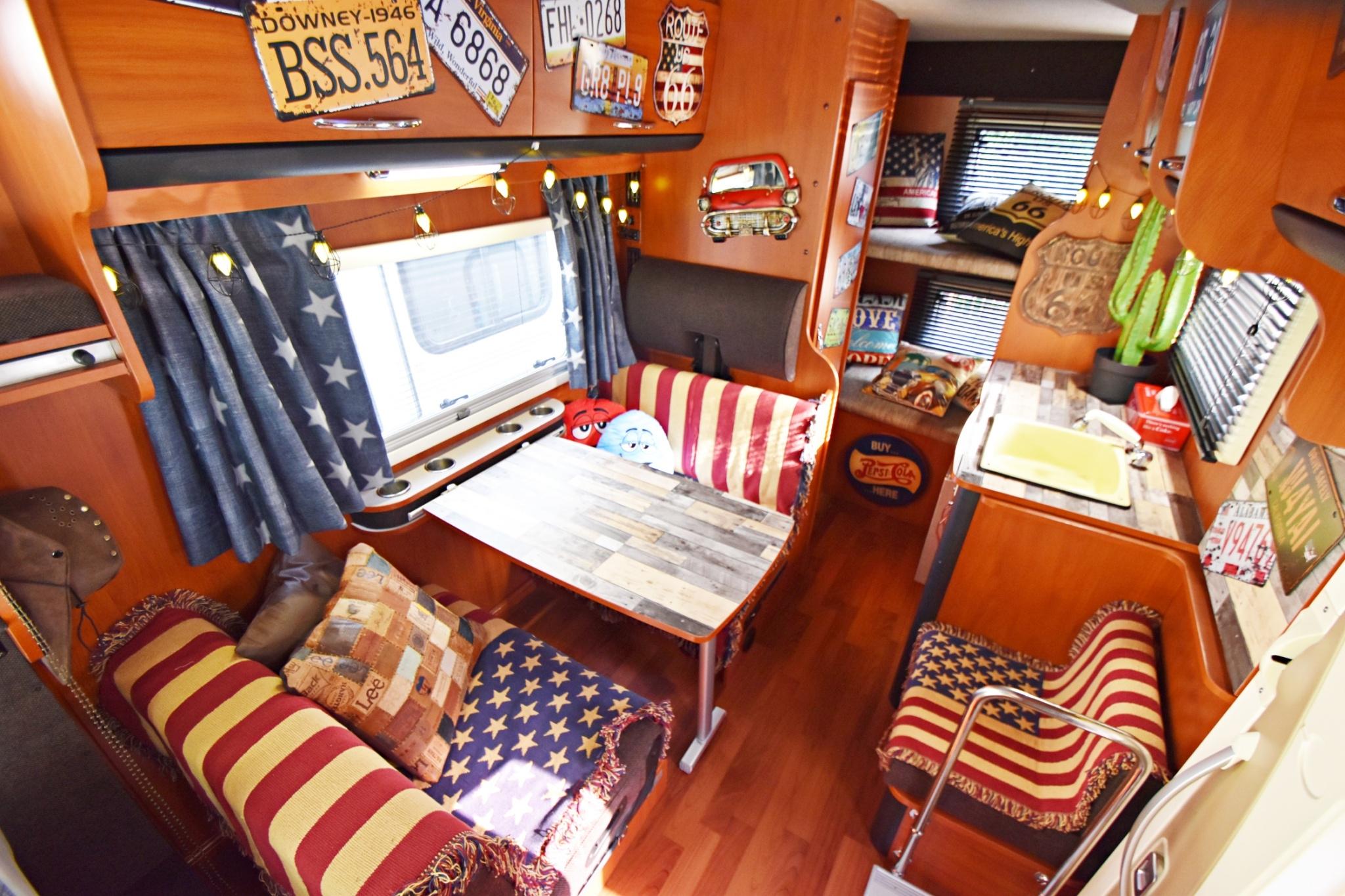 Campervan Retro American